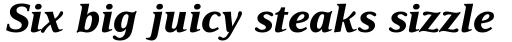 Delima Std Bold Italic sample