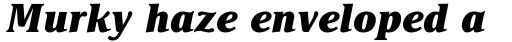 Delima Std ExtraBold Italic sample
