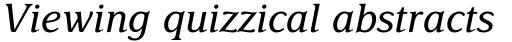 Delima Std Italic sample
