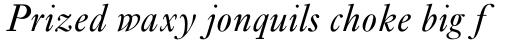 Ehrhardt Std Italic sample