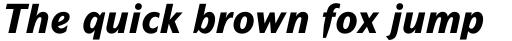 Mahsuri Sans Pro ExtraBold Italic sample