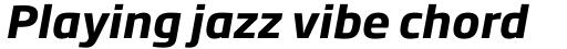 Soho Gothic Pro Bold Italic sample