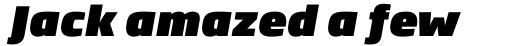 Soho Gothic Pro Ultra Italic sample