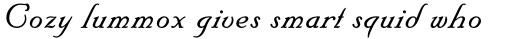 Floridian Script Std sample