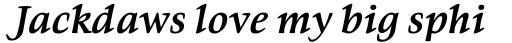 Givens Antiqua Pro Bold Italic sample