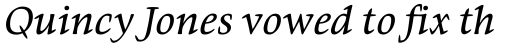 Givens Antiqua Pro Italic sample