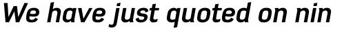 Azbuka Pro Bold Italic sample