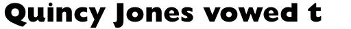 Gill Sans Pro ExtraBold sample