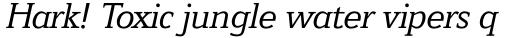 Jeunesse Slab Std Italic sample