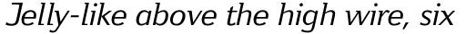 Jeunesse Std Italic sample