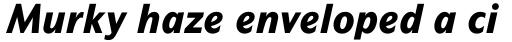 Mahsuri Sans Std ExtraBold Italic sample
