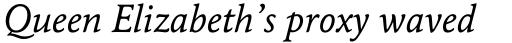 Maxime Std Italic sample