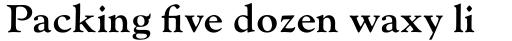 Monotype Goudy Std Bold sample
