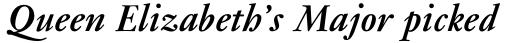 Janson Std Bold Italic sample