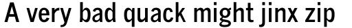 Monotype News Gothic Std Bold Condensed sample