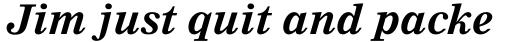 Nimrod Std Bold Italic sample