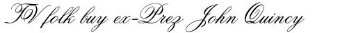 Old Fashion Script Std sample