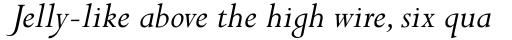 Perpetua Std Italic sample