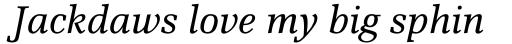 Scherzo Std Italic sample