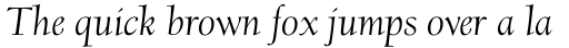 Scripps College Old Style Std Italic sample