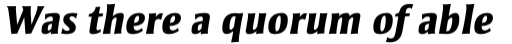 Strayhorn Std ExtraBold Italic sample
