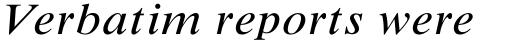 Times New Roman Std Small Text Italic sample