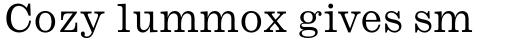 Monotype Ionic Pro Regular sample