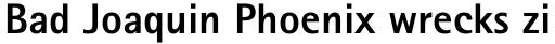 Rotis Sans Serif Pro 75 Cyrillic ExtraBold sample