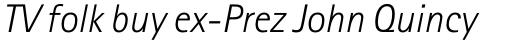 Rotis Sans Serif Pro 46 Cyrillic Light Italic sample