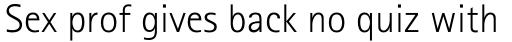 Rotis Sans Serif Pro 45 Greek Light sample