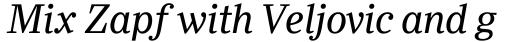 Ysobel Pro Italic sample