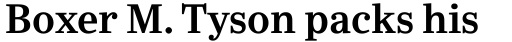 Ysobel Pro SemiBold sample