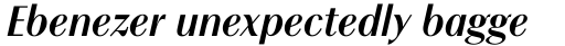 Chong Modern Std Bold Italic sample