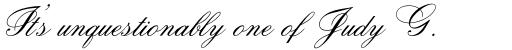 Citadel Script Pro sample