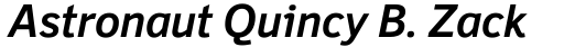 Felbridge Pro Bold Italic sample