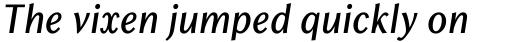 Chong Old Style Pro Italic sample