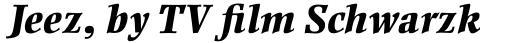 Ellington Pro ExtraBold Italic sample