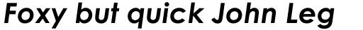 Century Gothic Pro Greek Bold Italic sample