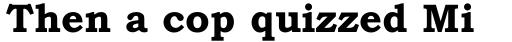 Bookman Old Style Pro Cyrillic Bold sample