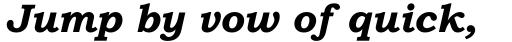 Bookman Old Style Pro Bold Italic sample