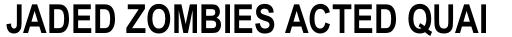Arial Pro Greek Narrow Bold sample