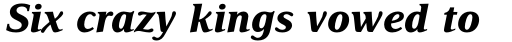 Delima Pro Bold Italic sample
