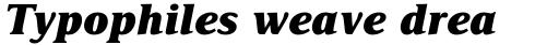 Delima Pro ExtraBold Italic sample
