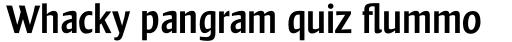 Frisans Pro Regular sample