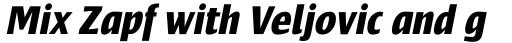 Frisans Pro Bold Italic sample