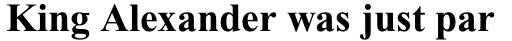 Times New Roman Pro PS Cyrillic Bold sample
