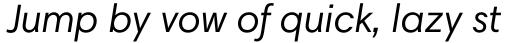 Harmonia Sans Std Italic sample