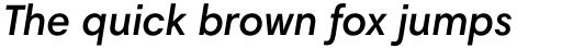 Harmonia Sans Std SemiBold Italic sample