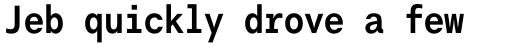 Harmonia Sans Std Mono Bold sample
