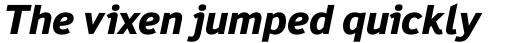 Felbridge Pro ExtraBold Italic sample